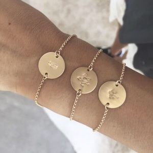 JAMES MICHELLE Coin Bracelet 🍍Symbol
